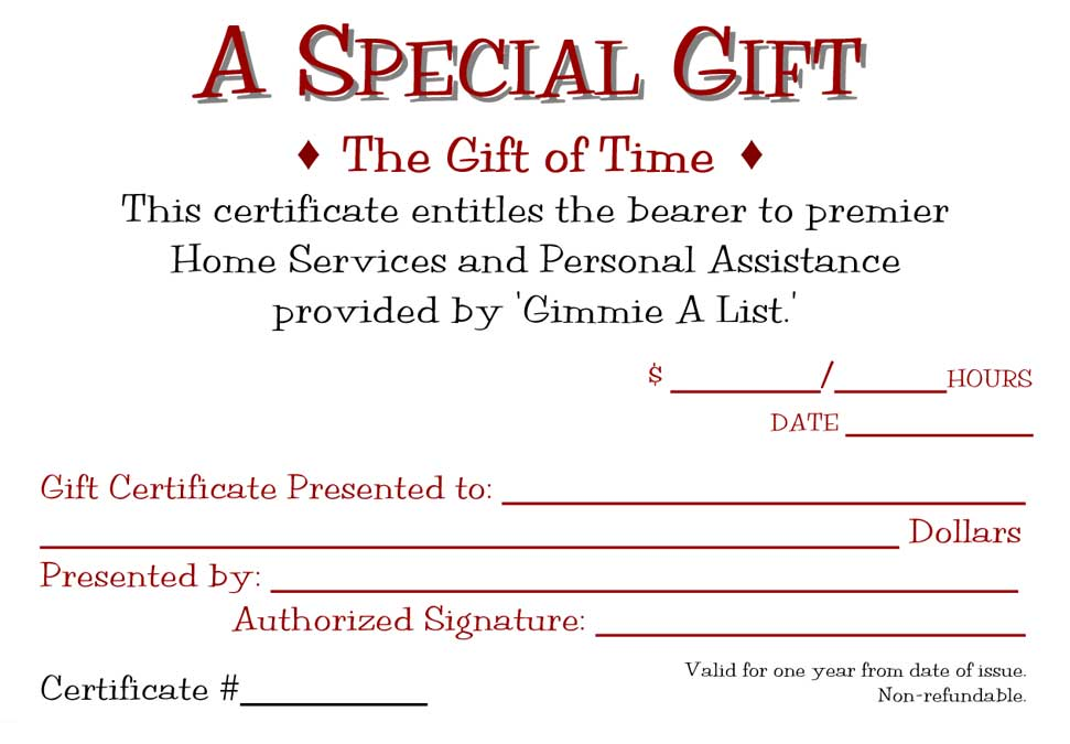 cleaning specials in redmond 206 612 0590 gimmie a list gift